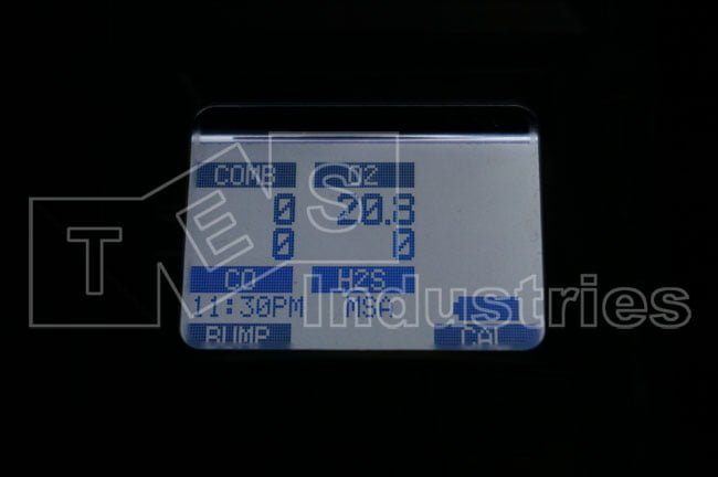 MSA ALTAIR 5X Gas Meter Display