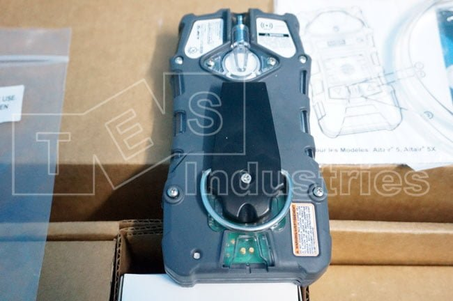 Back MSA ALTAIR 5X Gas Meter