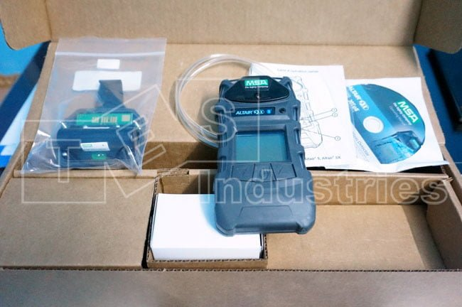 Front Gas Meter MSA ALTAIR 5X and Accessories