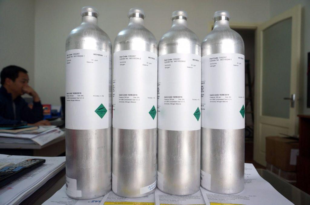 NH3 Standard Gas
