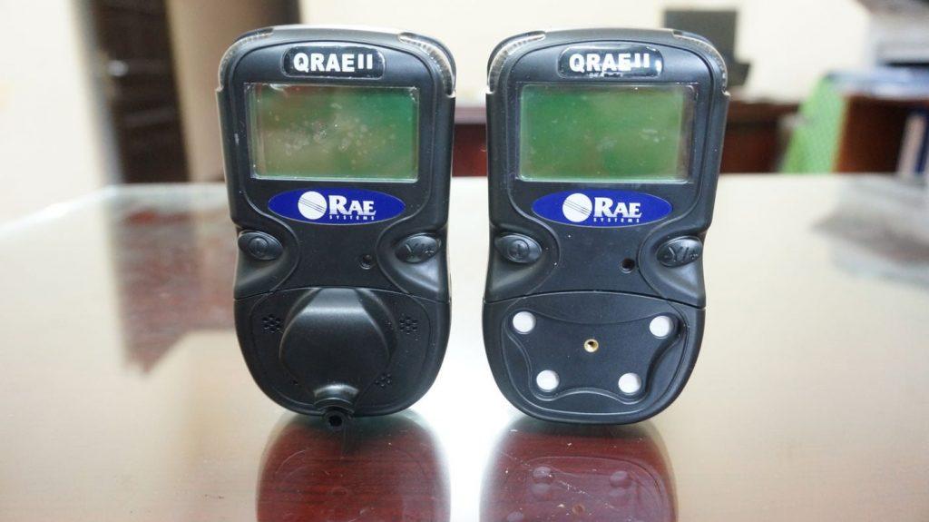 Máy đo khí Qrae II bản có bơm và không bơm