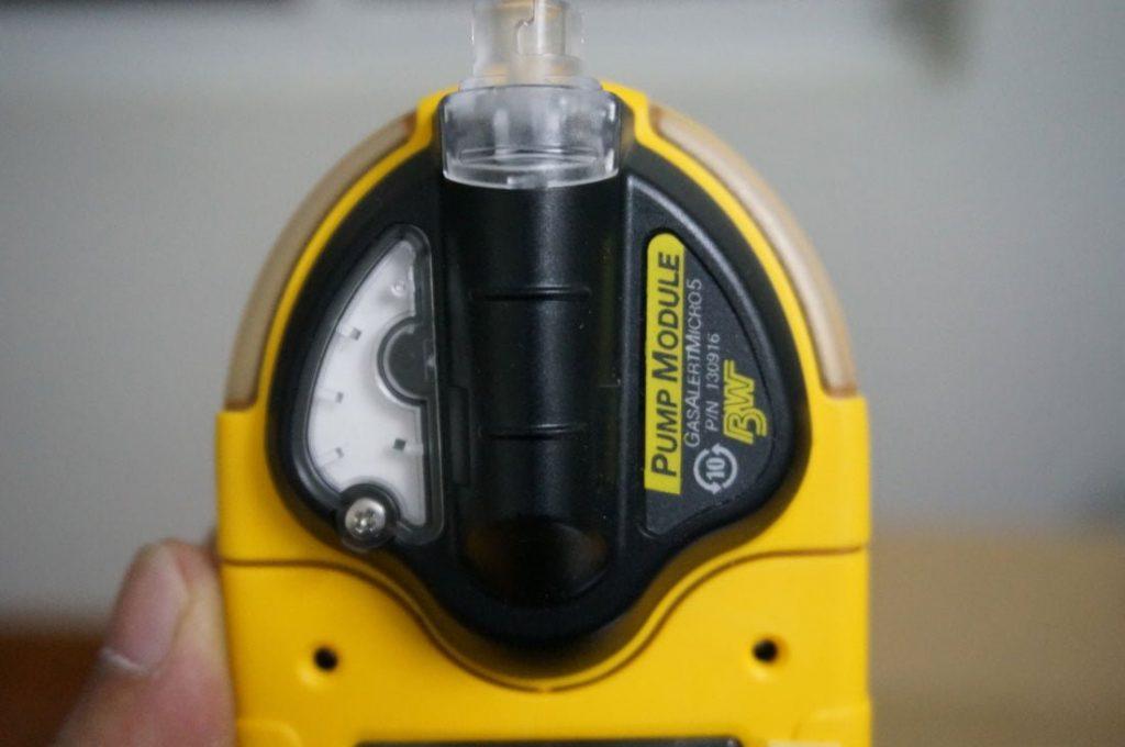 Bơm tích hợp trên GasAlertMicro 5