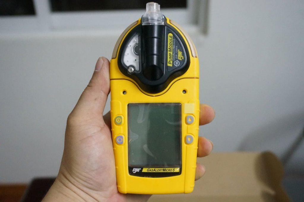 GasAlertMicro 5 Phiên bản có tích hợp bơm hút