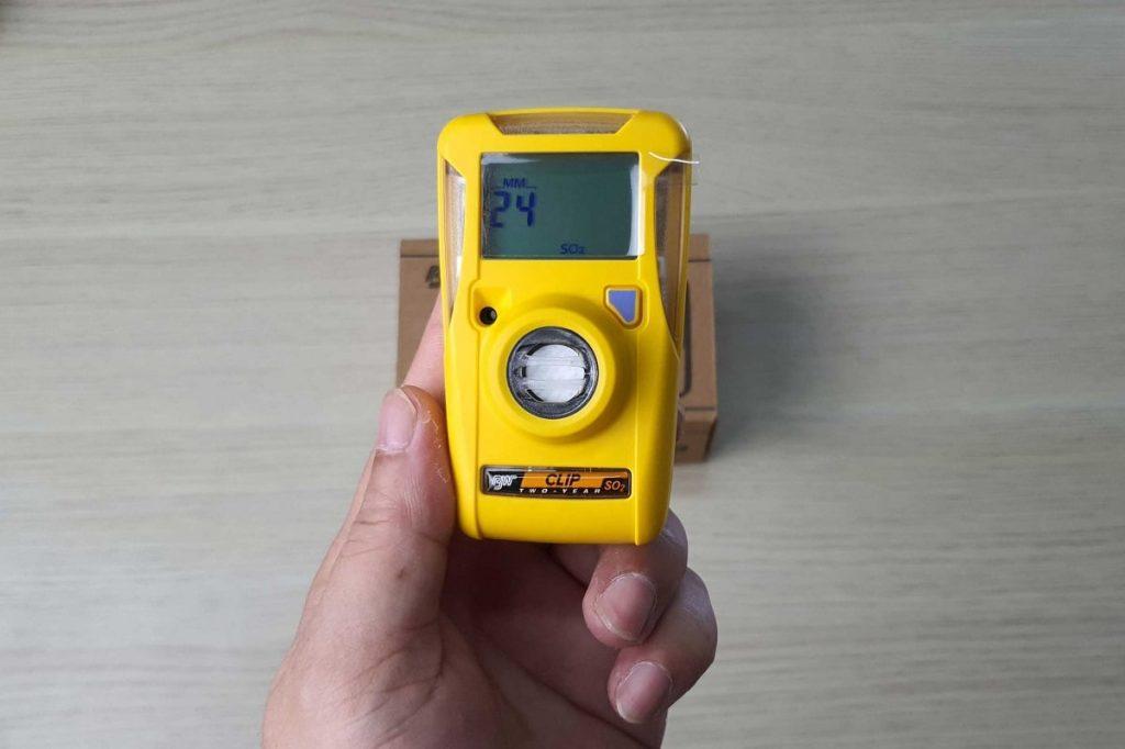 BW Clip Gas Meter , SO2 Gas Meter
