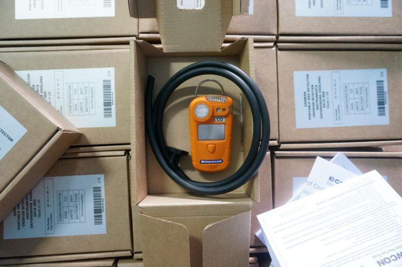 Lô hàng máy đo đơn khí Gasman