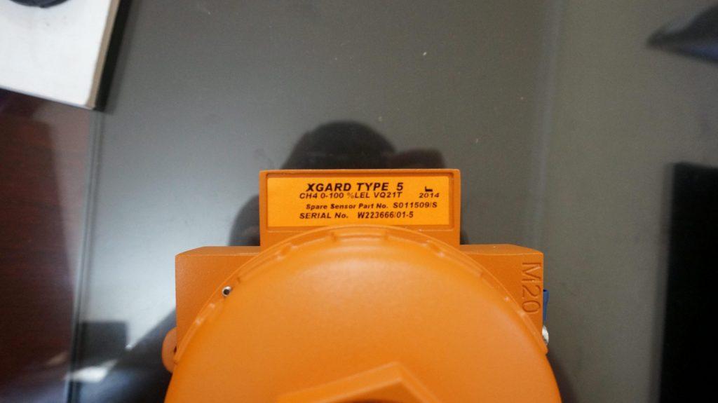 Nhãn dán mã hàng đầu dò khí Xgard