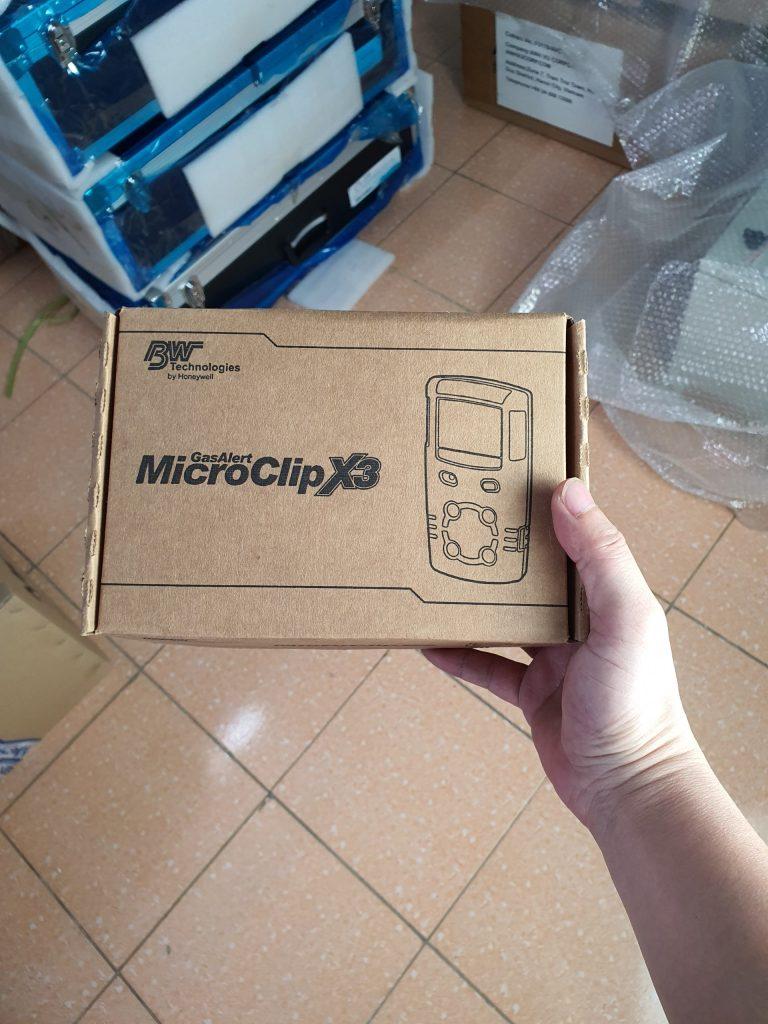 GasAlertMicroClip X3 - Hộp máy
